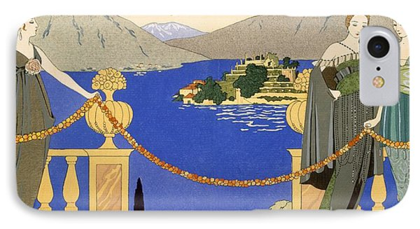 Isola Bella Phone Case by Georges Barbier