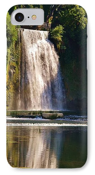 Isola Del Liri Falls IPhone Case