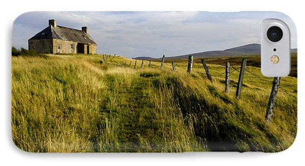 Isolation 2 The Northern Highlands Scotland IPhone Case by Sally Ross