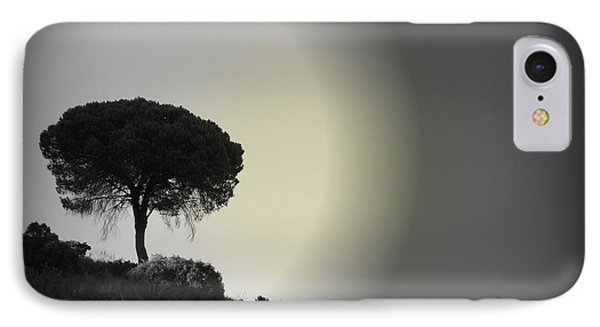 IPhone Case featuring the photograph Isolation Tree by Clare Bevan