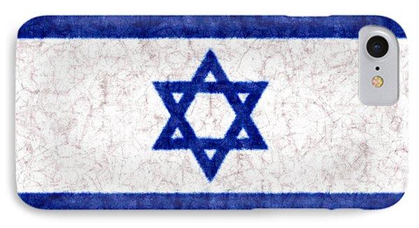 Israel Star Of David Flag Batik IPhone Case