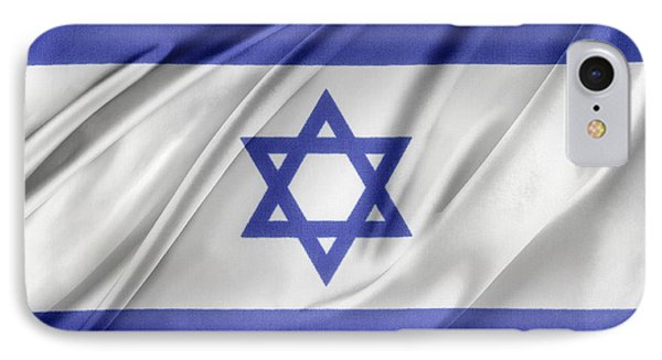 Israeli Flag IPhone Case by Les Cunliffe