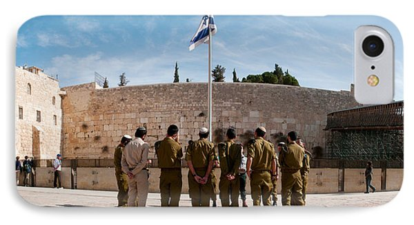 Israeli Soldiers Being Instructed IPhone Case by Panoramic Images