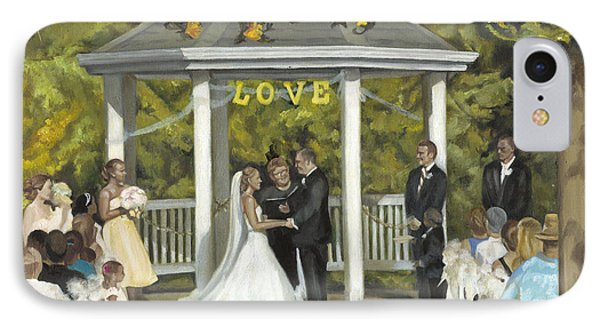 Issaquah Wedding  IPhone Case