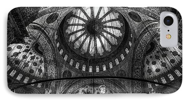 Turkey iPhone 7 Case - Istanbul - Blue Mosque by Michael Jurek
