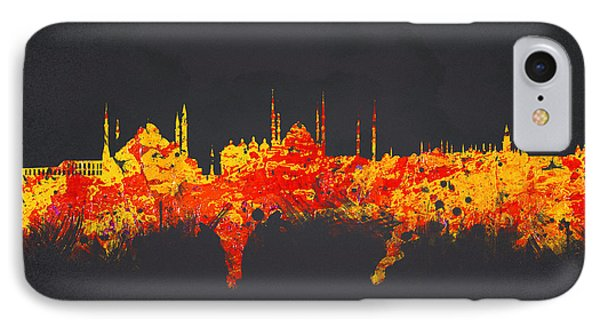 Istanbul Turkey Phone Case by Aged Pixel