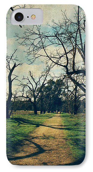 It All Depends Phone Case by Laurie Search