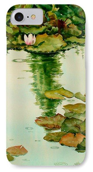 It Also Rains In Monet's Garden IPhone Case