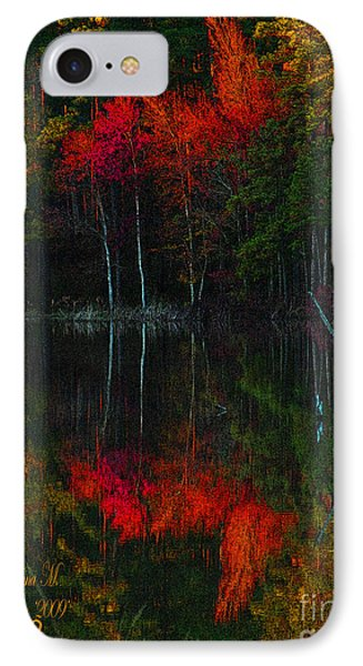 IPhone Case featuring the photograph It Fall Time Again by Donna Brown