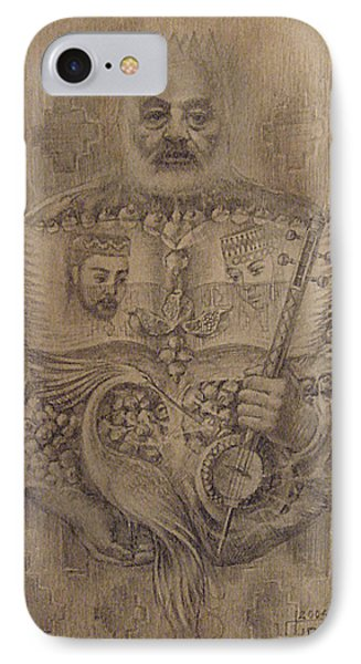 It Is Devoted To Great Paradzhanov IPhone Case by Meruzhan Khachatryan