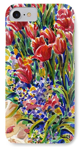 It Might As Well Be Spring IPhone Case by Dee Davis