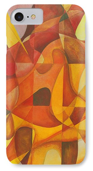 IPhone Case featuring the painting It Seemed So Pleasin' by Rick Ahlvers