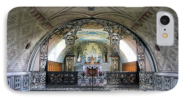 Italian Chapel Mural Lamb Holm Orkney IPhone Case by Tim Gainey