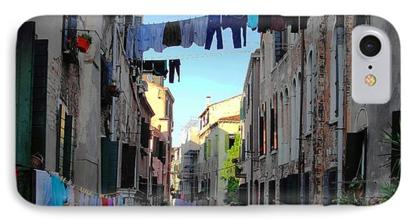 Italian Clotheslines IPhone Case
