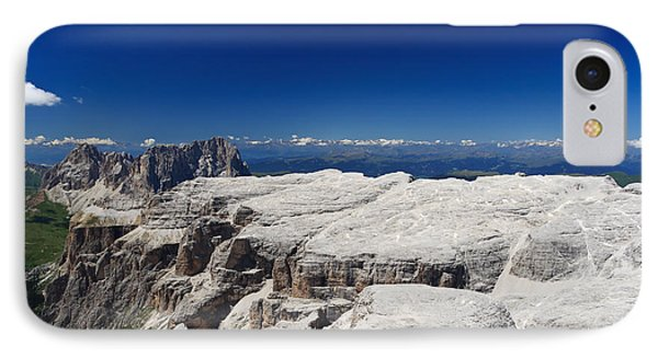 IPhone Case featuring the photograph Italian Dolomites - Sella Group by Antonio Scarpi