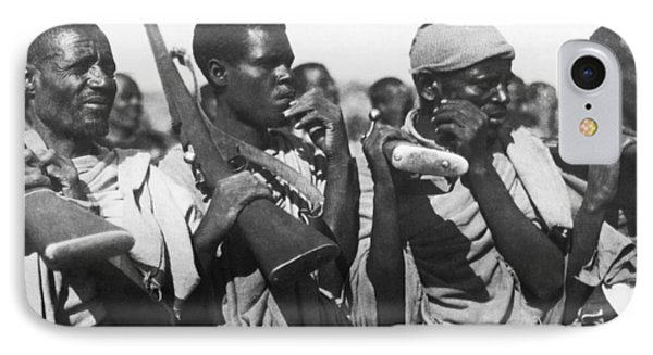 Italian Ethiopian Allies IPhone Case by Underwood Archives
