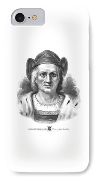 Italian Explorer Christopher Columbus IPhone Case by War Is Hell Store