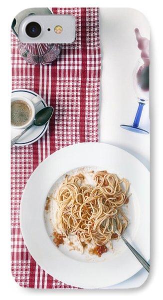 Italian Food IPhone Case