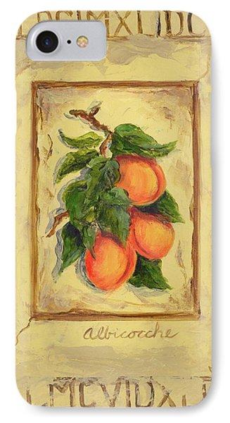 Italian Fruit Apricots IPhone Case