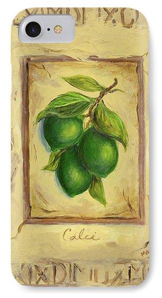 Italian Fruit Limes Phone Case by Marilyn Dunlap