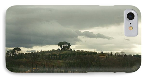 IPhone Case featuring the photograph Italian Hillside by Robin Maria Pedrero