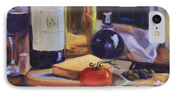 Italian Kitchen Phone Case by Donna Tuten