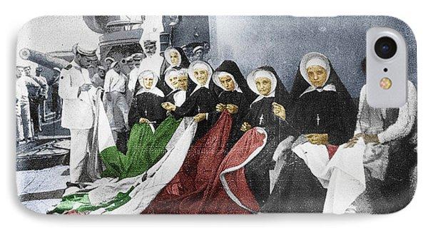 Italian Nuns Phone Case by Tony Rubino