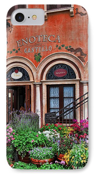 Italian Restaurant Phone Case by Lee Dos Santos