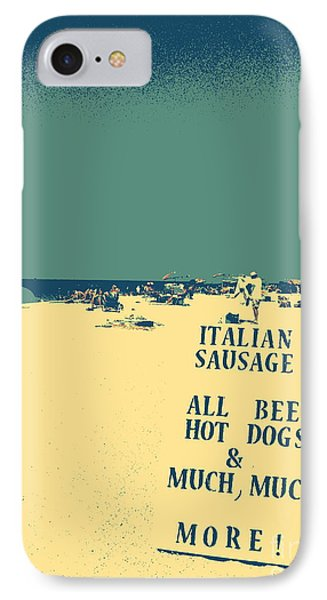 Italian Sausage IPhone Case by Valerie Reeves