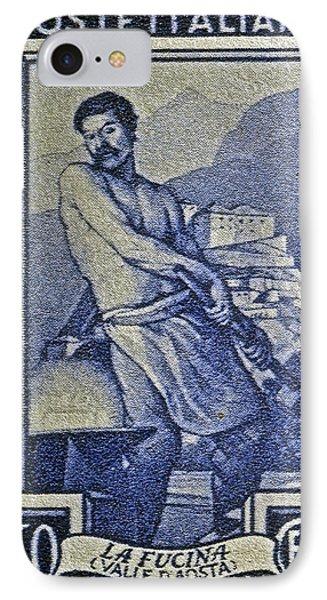 Italian Stamp - Circa 1955  Phone Case by Bill Owen