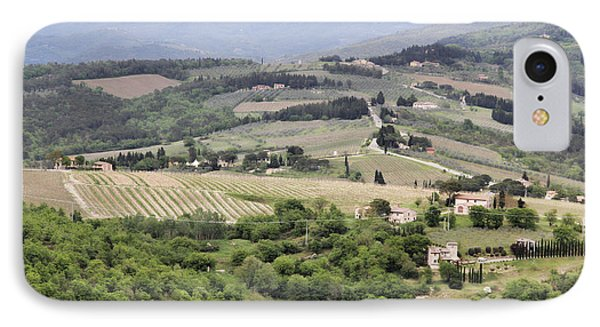 Italian Vineyards IPhone Case by Nancy Ingersoll