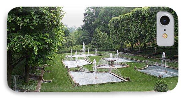 Italian Water Garden Phone Case by Barbara McDevitt