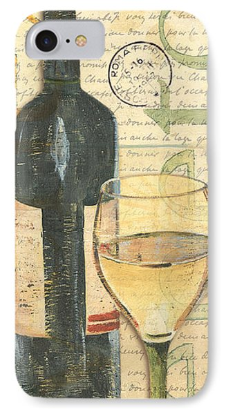Italian Wine And Grapes 1 IPhone Case