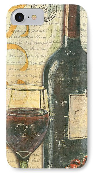 Italian Wine And Grapes Phone Case by Debbie DeWitt