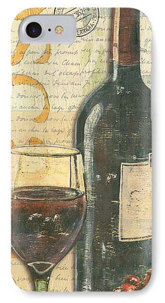 Italian Wine And Grapes IPhone Case by Debbie DeWitt