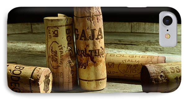 Italian Wine Corks IPhone Case by Jon Neidert