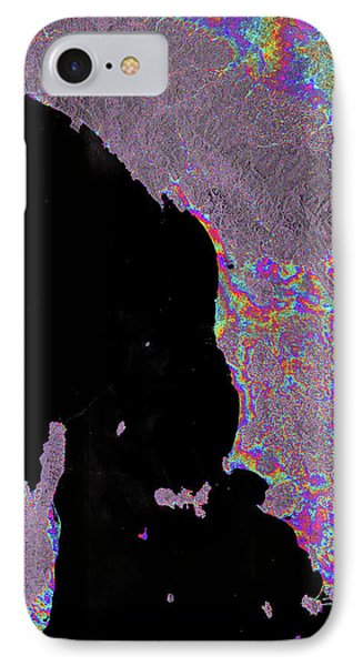 Italy And Corsica IPhone Case by Esa/dlr Remote Sensing Technology Institute