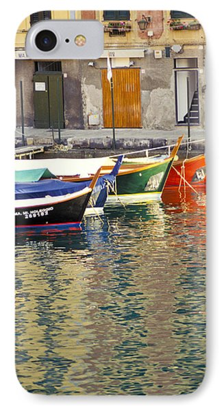 Italy Portofino Colorful Boats Of Portofino IPhone Case