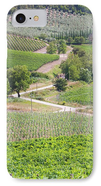 Italy, Radda Colle Bereto Winery IPhone Case by Jaynes Gallery