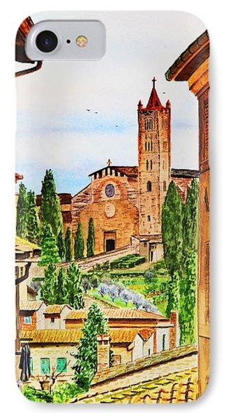 Italy Siena IPhone 7 Case
