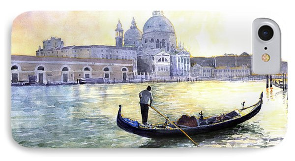 Italy Venice Morning IPhone Case by Yuriy Shevchuk