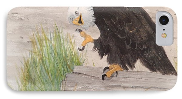 IPhone Case featuring the painting Itchy by Betty-Anne McDonald