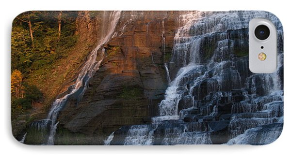 Ithaca Falls  --  Late Afternoon Phone Case by Anna Lisa Yoder