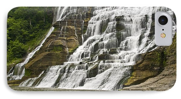 Ithaca Falls Phone Case by Anthony Sacco
