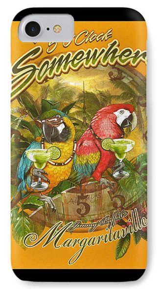 It's 5 O'clock Somewhere IPhone 7 Case by Desiderata Gallery