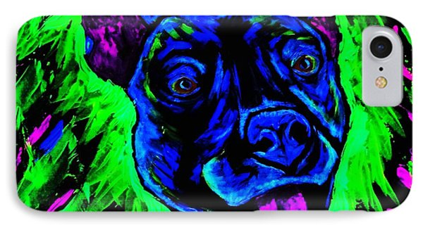 It's A Pitty Black Light IPhone Case by Lisa Brandel