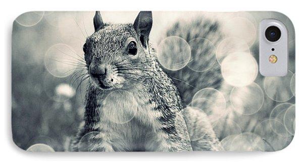 It's A Squirrel's World Too IPhone Case by Aurelio Zucco