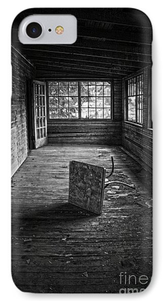 IPhone Case featuring the photograph It's Empty Now by Debra Fedchin