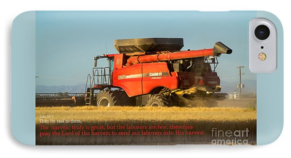 It's Harvest Time IPhone Case by Beverly Guilliams