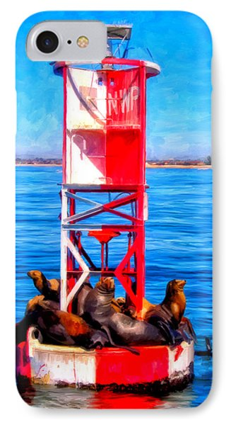 It's Lonely At The Top Phone Case by Michael Pickett